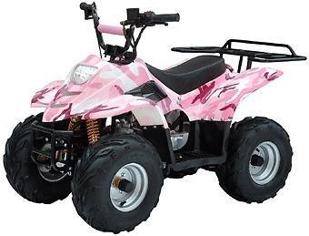 New Plastic Body Kit Pink Camo 50cc 70cc 90cc Mini ATV Quad