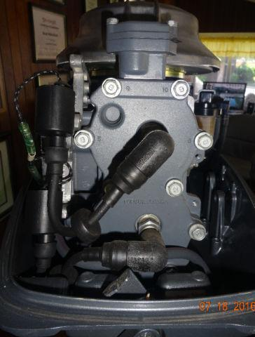 MINT CONDITION 2012-25 HP -2 STROKE- YAMAHA OUTBOARD sell/trade