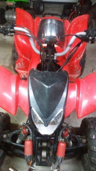 200 cc ATV