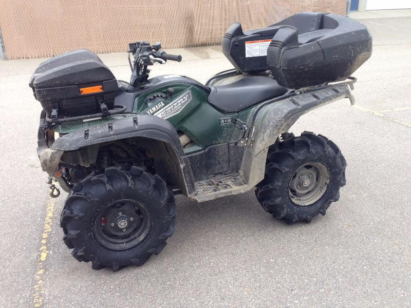 2007 Yamaha Grizzly 700 & Snow Plow