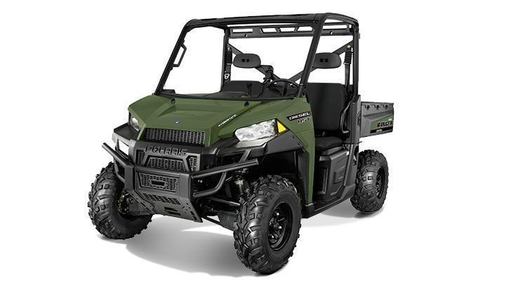 2017 Polaris Ranger Diesel HST