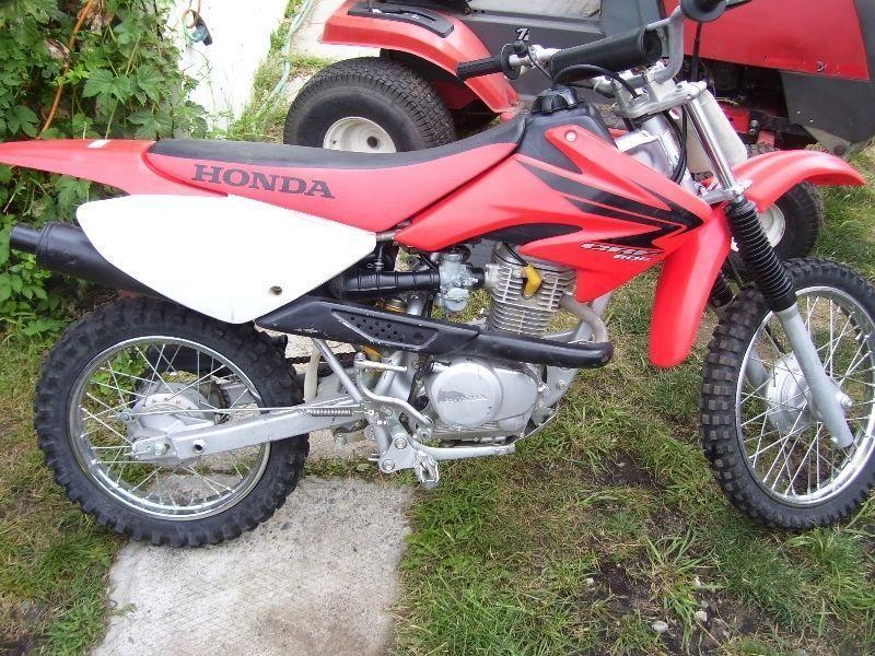 honda dirt bike cc brick motorcycle