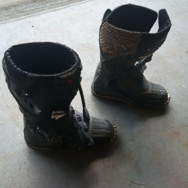 Youth Size 5 Dirt Bike Boots