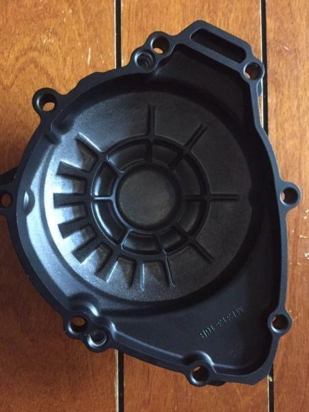 Yamaha R1 stator cover 09-14 and some matte black plastics