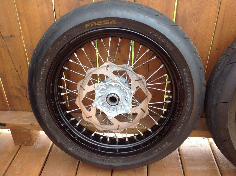 Supermoto Wheel Kit