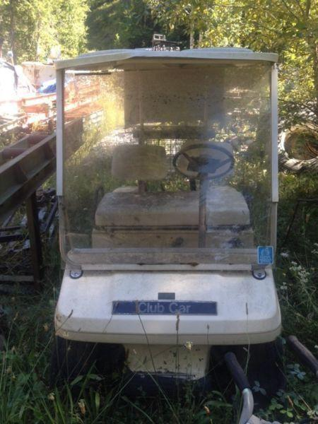 2 golf carts for sale