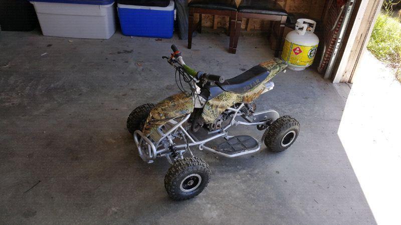 50cc z starr quad