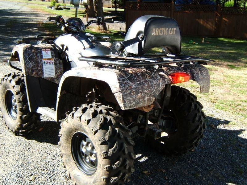 2008 ARTIC CAT 500 4x4 Quad