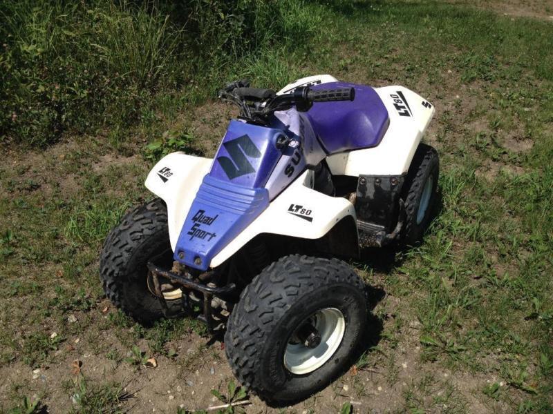 Suzuki Cc Quad Pull Start