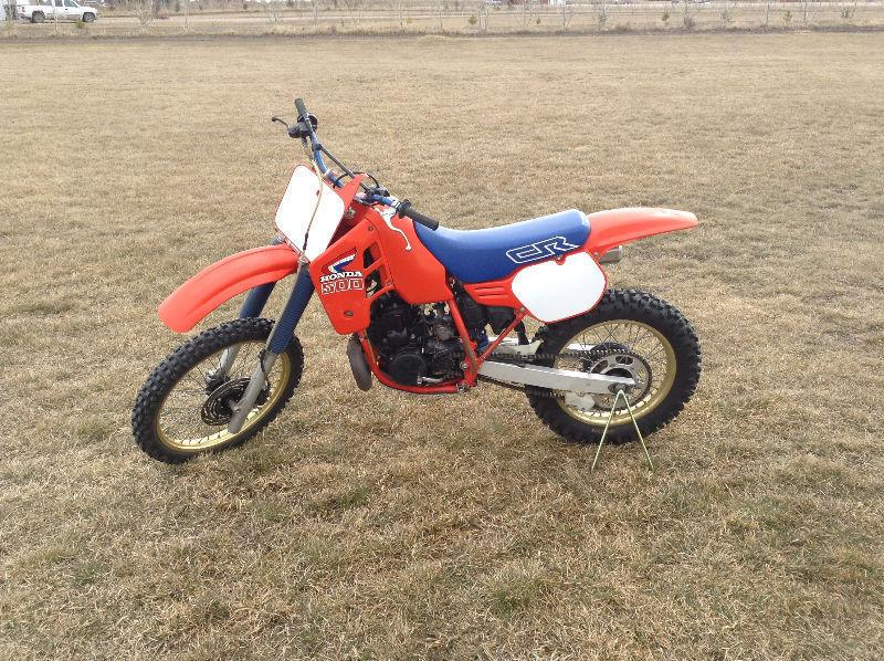 Rare Original 1986 Honda CR500