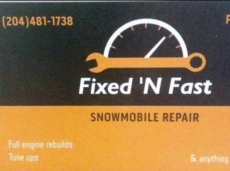 Snowmobile atv dirtbike repair/service