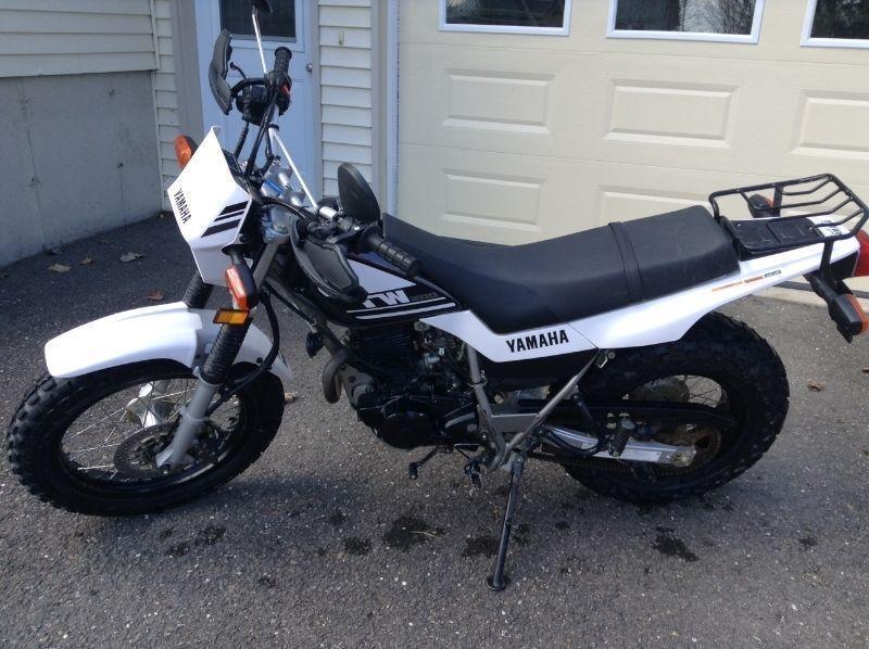 TW200 Yamaha dual purpose motorcycle