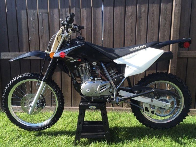 LOW HOURS 2008 Suzuki DRZ 125L