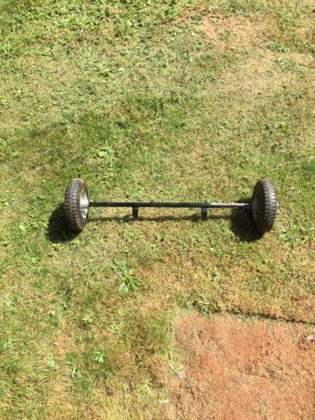 PW50 Training wheels