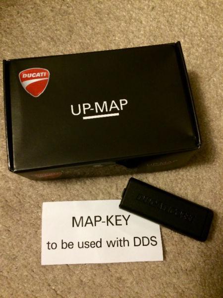 Ducati Upmap key