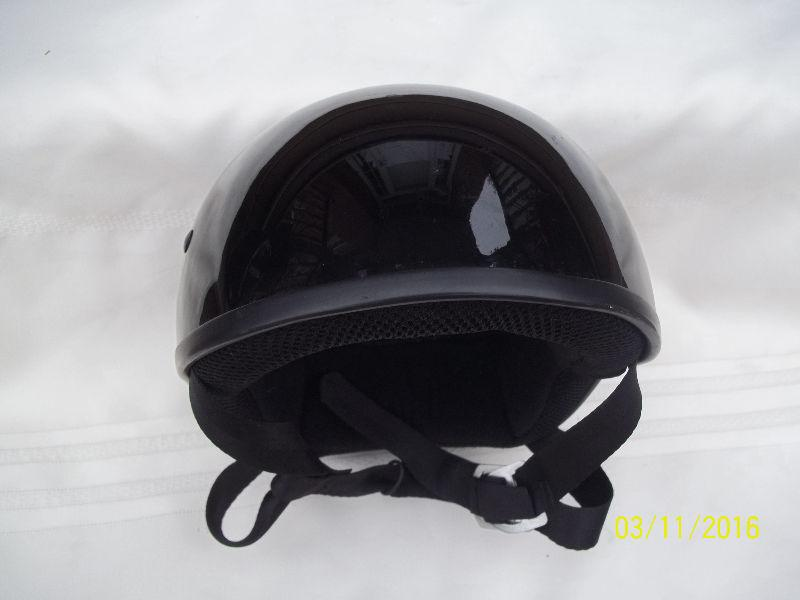 ZOX Open Half Face Motorcycle Scooter Helmet Black XS