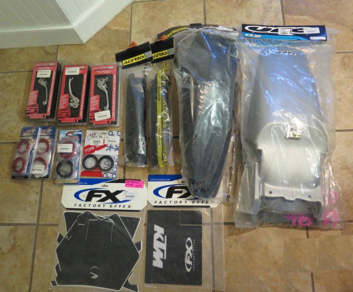 KTM Motorbike Parts - NEW