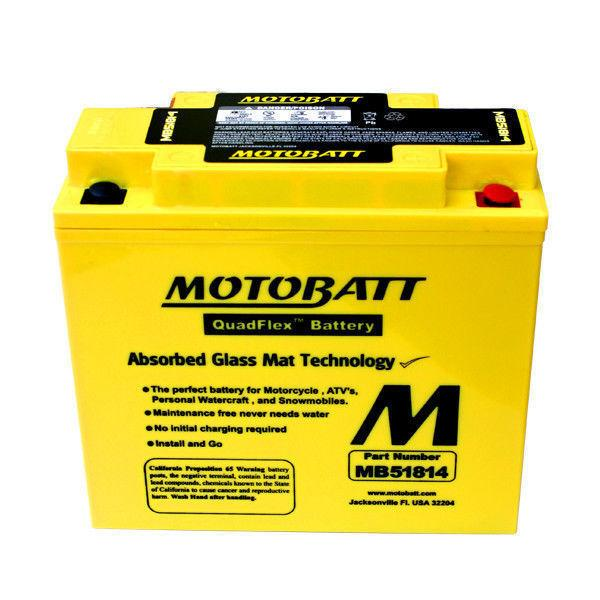 MotoBatt MB51814 Advanced AGM Motorcycle Battery for BMW