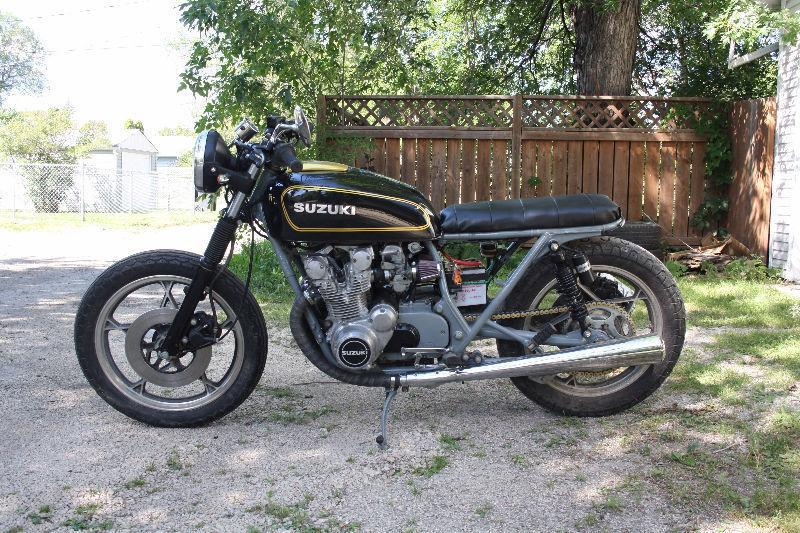 77' Suzuki GS550E -Tracker/Brat AS IS