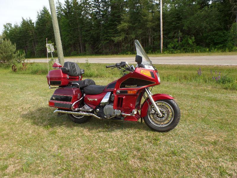 1996 kawasaki voyager 1200cc for sale or trade