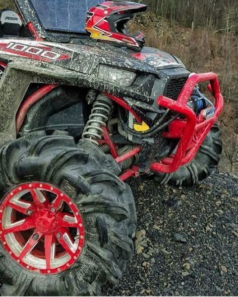 NO LIMIT - OCTANE RED POSITIVE WHEELS ATV TIRE RACK $157.52 ea