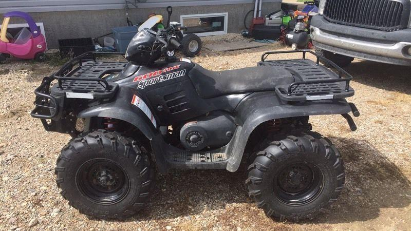 2003 Polaris sportsman 600 twin
