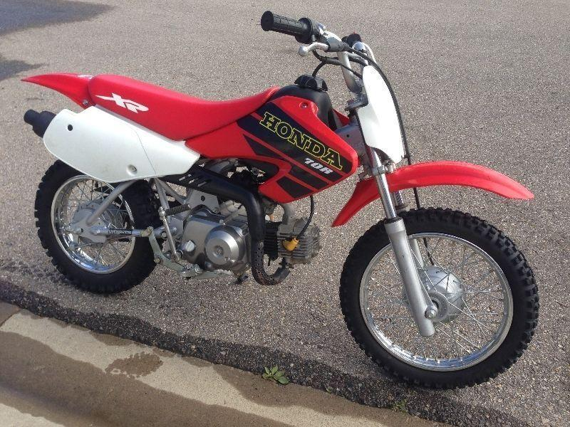 HONDA XR70R (CRF70F) 4-STROKE CHERRY CONDITION SUPER LOW HOURS