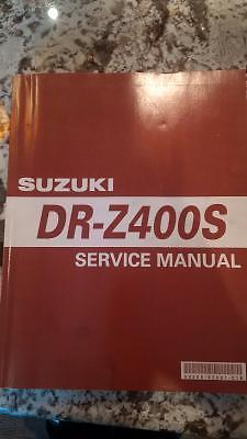 DRZ 400 Service / Shop Manual