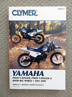 8 Clymer ATV and M/C Manuals - 1 price!