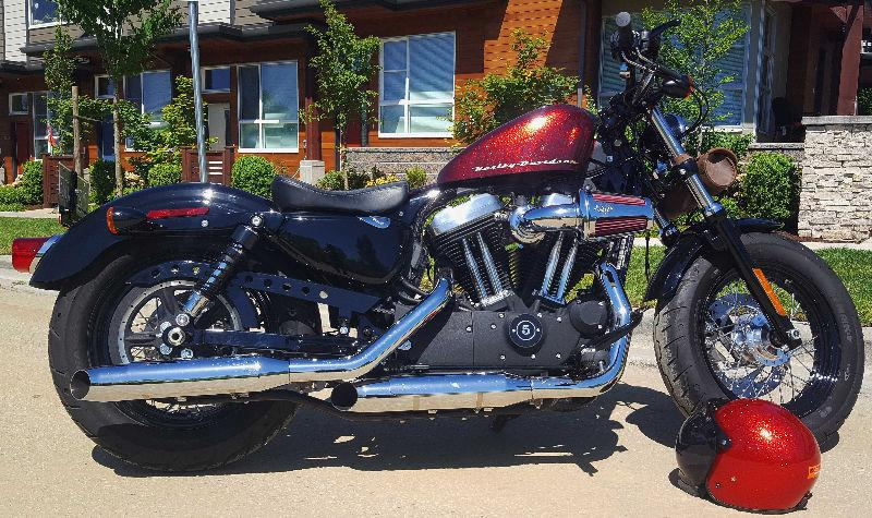 High Performance Harley-Davidson Sportster Forty-Eight 2015