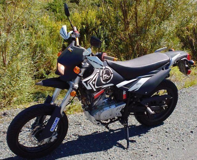 2012 Pitster/Suzuki - Supermoto 200cc Dual Purpose (on/off Road)