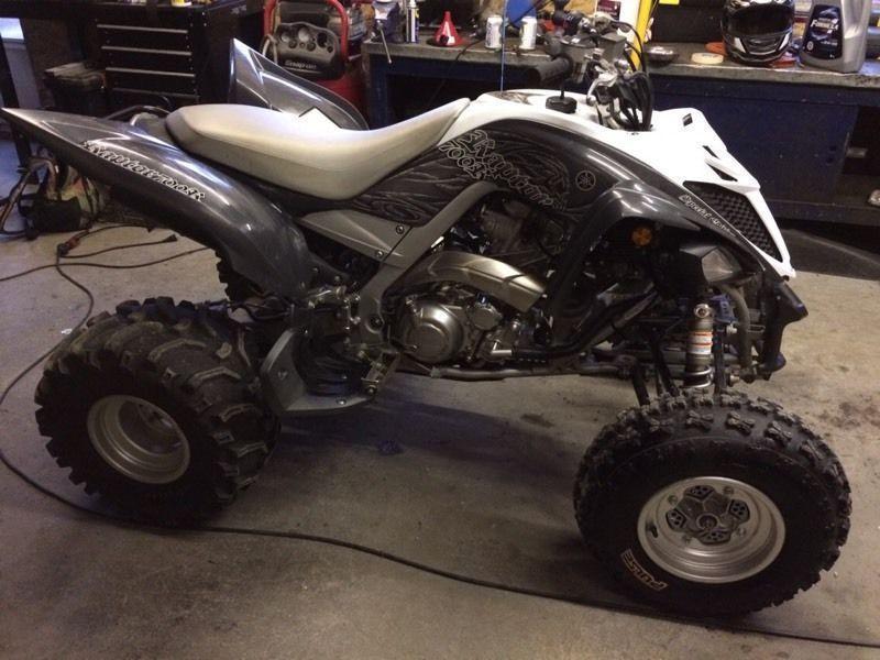 2014 Yamaha raptor 700r SE