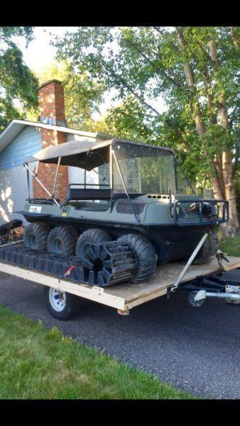 2002 Argo Conquest 8x8, Ready for hunting! Trade?