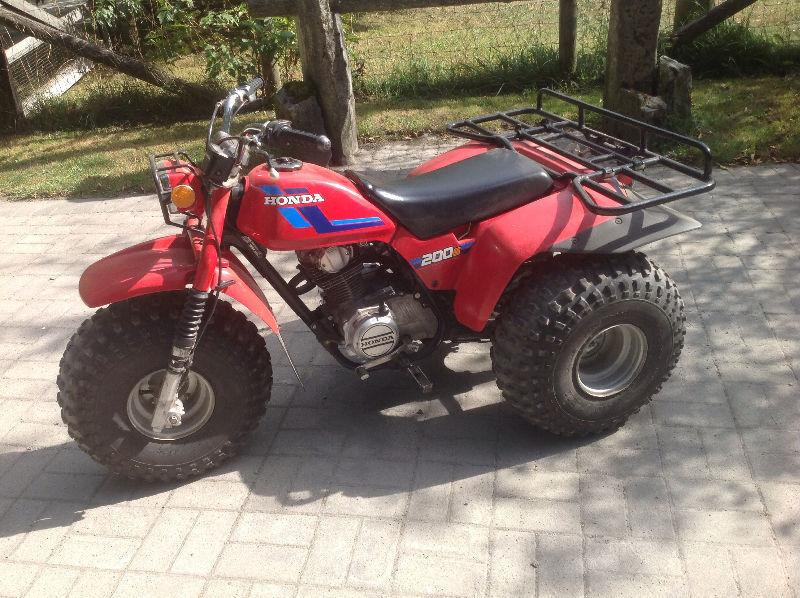 For sale Honda ATC 200S three wheeler