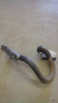 Stock Header Exhaust Pipe / Headlight / Handguards
