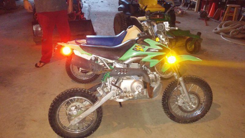 110cc pantera dirt bike