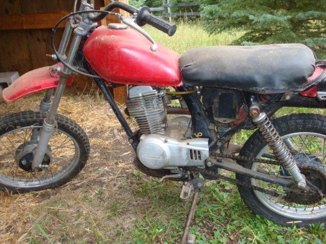 1981 Honda XL80 Spares or repair