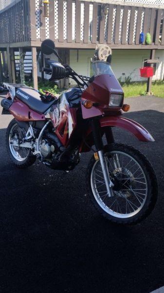2004 KLR 650 (dual purpose)