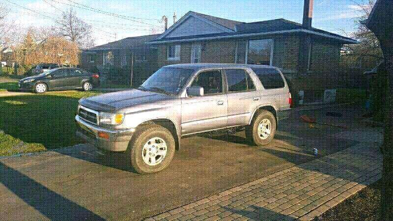 1997 toyota 4runner sr5 v6 4x4 auto