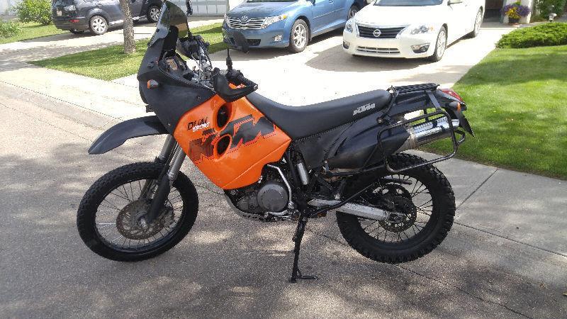 2007 KTM 640 adventure dualsport motorcycle