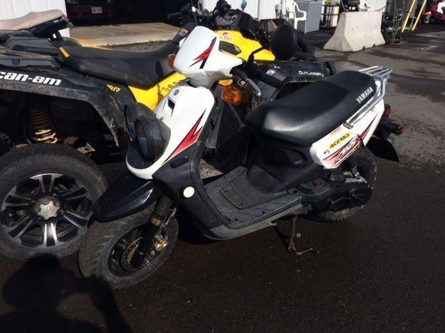 3 scooters for sale by auction Yamaha 50cc Aprilia 200 cc