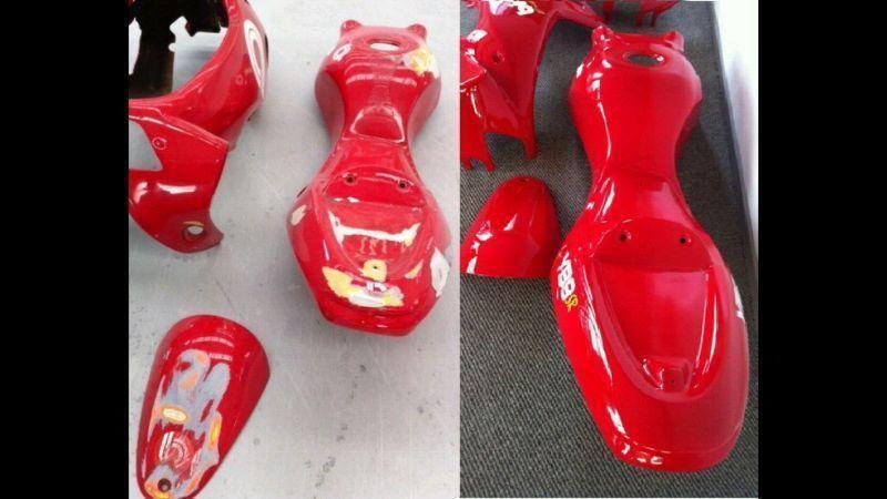 Motorcycle, Dirt Bike Plastic & Fibreglass Repairs