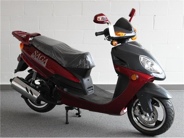 SOLD !!! *CLEARANCE $1000.00 OFF* Saga Deluxe - Gas Scooter 50cc