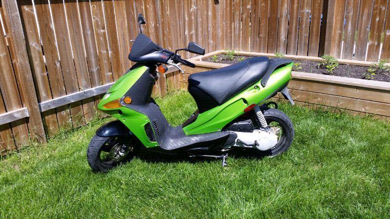 Derbi gp1 scooter