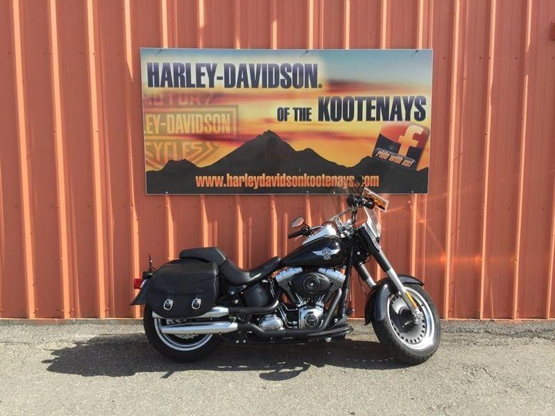 2012 Harley-Davidson FLSTFB - Softail Fat Boy Lo