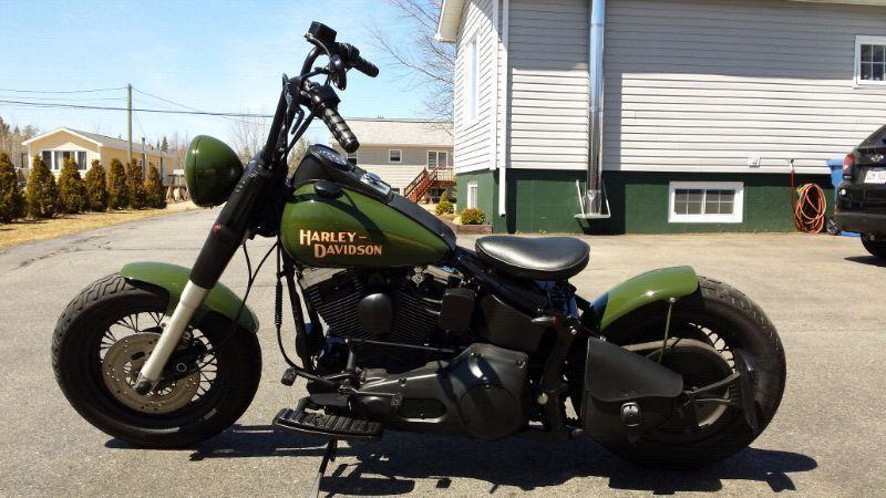 Harley heritage bobber