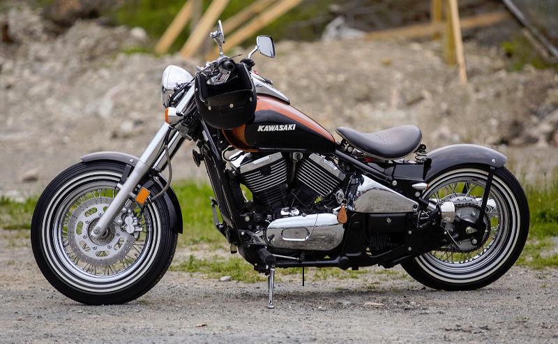 800 Bobber Vulcan - Brick7 Motorcycle