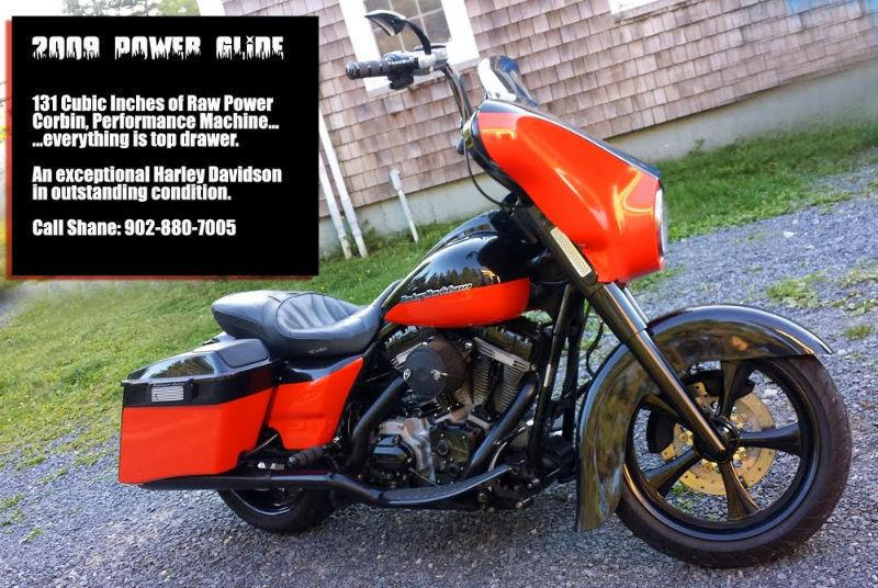 2009 Harley Davidson Street Glide FULL ON CUSTOM Serious Bike