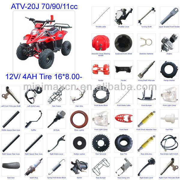ATV PART GIO PARTS DAYMAK PARTS ABIBABA PARTS