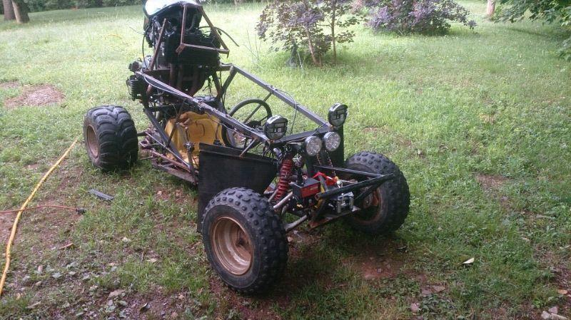 Ninja powered off road go kart